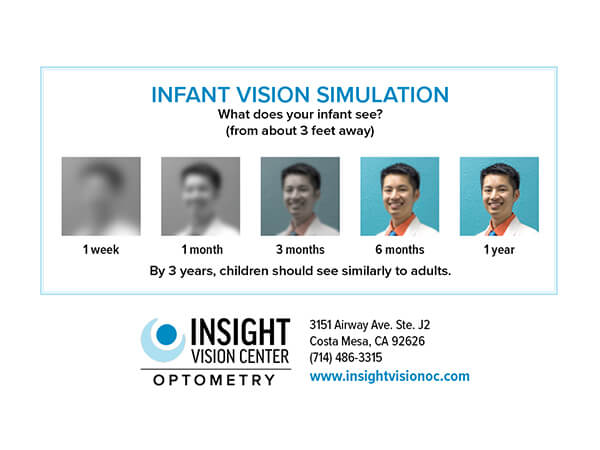 infant vision simulation
