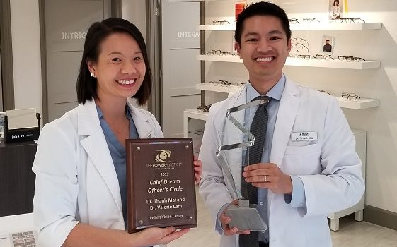 Insight Vision Center Optometry Wins Optometry Practice of the Year